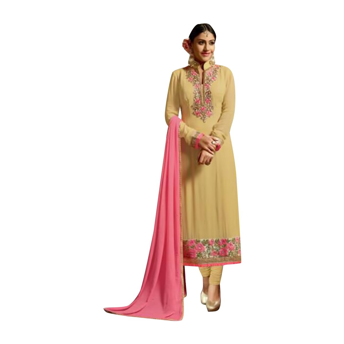 Designer Women Dress Formal Collection Straight Salwar Kameez Suit Party Wear 379