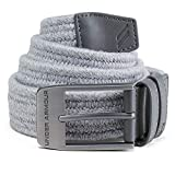 Under Armour Men's Braided Belt 2.0, Overcast Gray (941)/Rhino Gray, 32