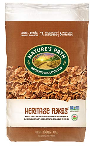 Nature's Path Heritage Flakes Whole Grains Cereal,