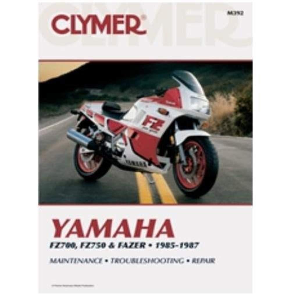Clymer Repair Manual For Yamaha Fz700 Fz750 Fazer 85 87 Amazonco Wiring Diagram Car Motorbike