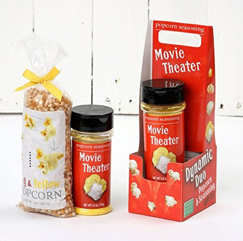 Wabash Valley Farms 77309 Dynamic Duo Popcorn Gift Set- Movie Theater Meets Big & Yellow