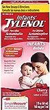 TYLENOL Infants' Acetaminophen Oral Suspension, Cherry Flavor 2 oz (12 Pack)