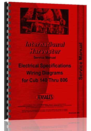 Elec Comb (International Harvester All Electrical Specs and Wiring Diagrams Service Manual [Jan 01, 2017] International Harvester)