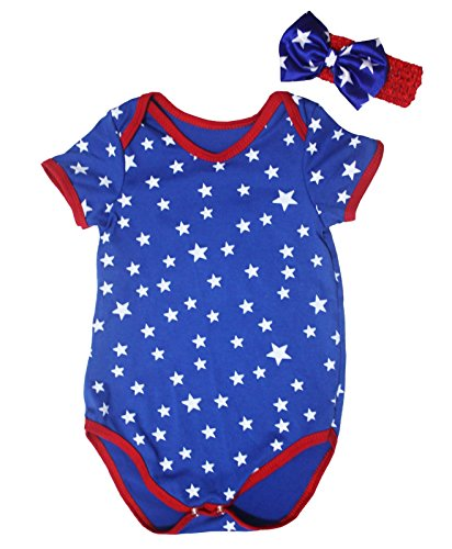 infant 4th of july dress - 1