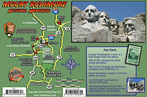 Bello Mounts - Mount Rushmore Guide Laminated Card
