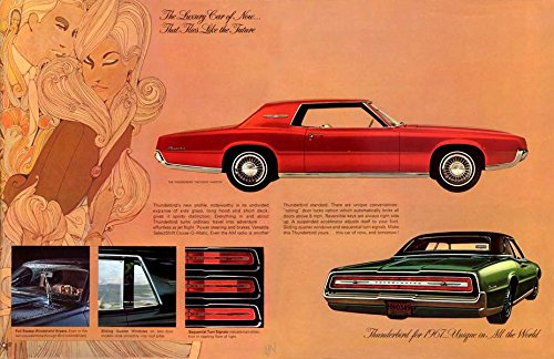 1967 Ford Thunderbird Brochure Replica Photo Print 13x19