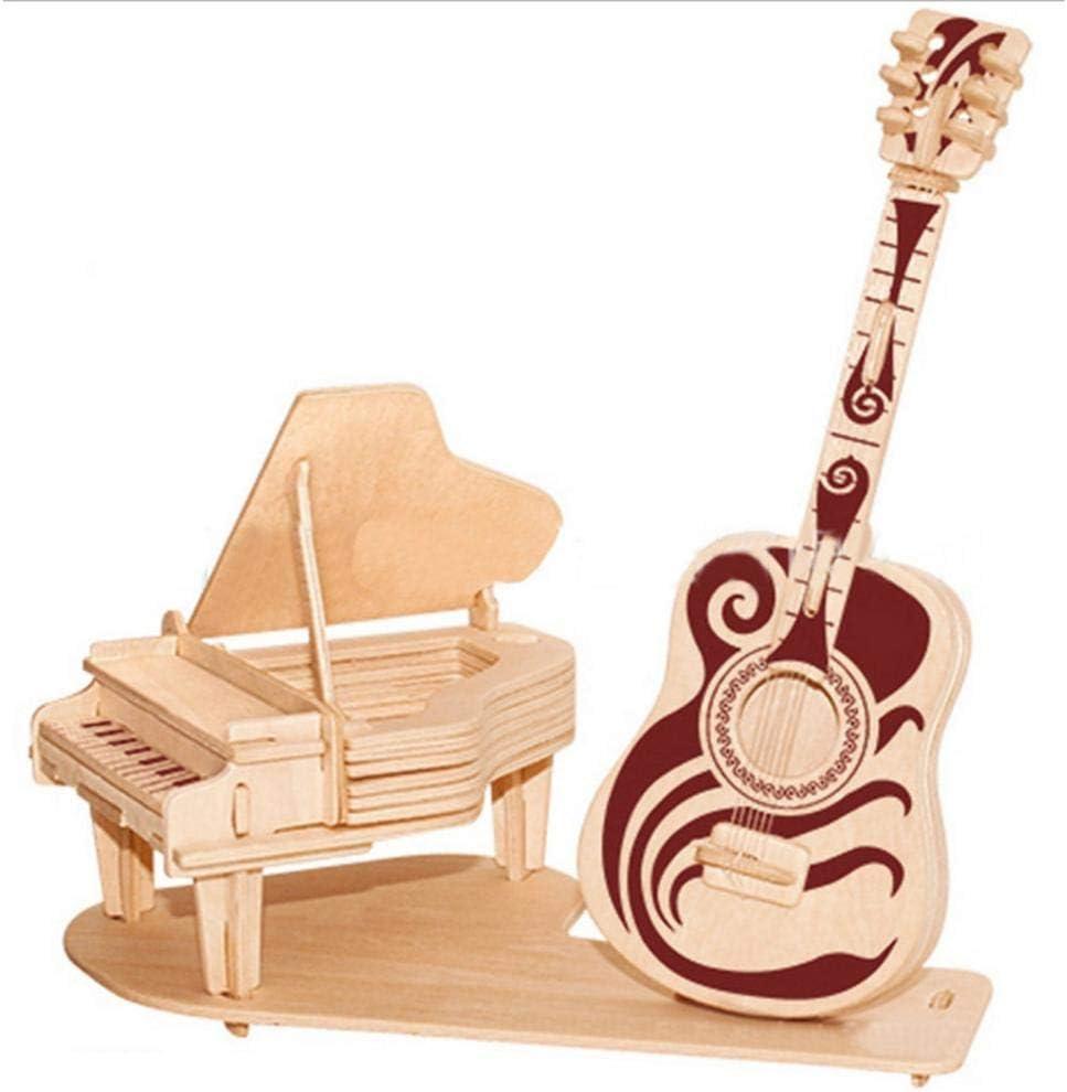 kelihood - Puzzle para Adultos, diseño de Piano y Guitarra, para ...