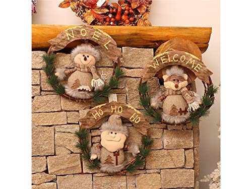 rosso Buona Babbo Bear Di Decorazione Per Bambini Fascia Natale Copricapo Festa Della Natale Christmas Lovke Marrone Hairband Palchi Una F67fqf