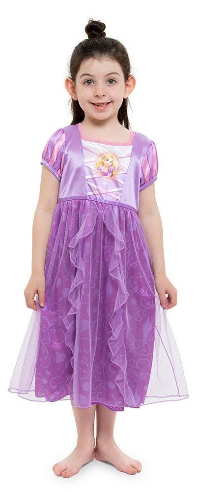 Disney Big Girls' Fantasy Nightgowns, Rapunzel Lively Lavender, 8 by Disney (Image #1)