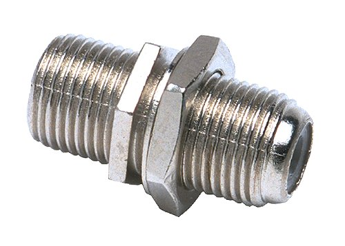 Allen Tel CT721 In-Line Splice F-Connector, 2-Pack -