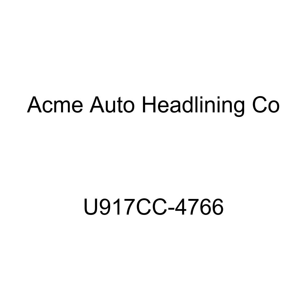Acme U917CC-4766 Front and Rear Light Saddle Vinyl Bench Seat Upholstery