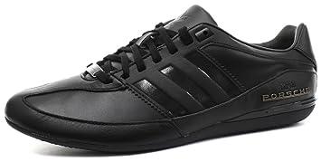 adidas Originals PORSCHE DESIGN TYP 64 Black Leather Men Sneakers Schuhe cc5e40e4d59