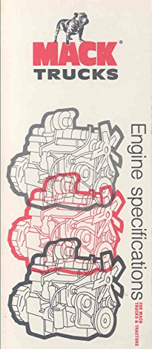1978 Mack Truck Engine Specifications Brochure (Specifications Truck Engine)