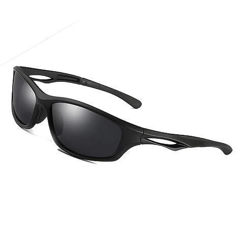f0ab691763 Gafas de Sol Deportivas Polarizadas para Hombres Mujeres béisbol Running  Ciclismo Pesca Conducción Golf Softball Senderismo