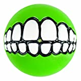Rogz Grinz Treat Ball Dog Toy, Medium Lime, My Pet Supplies