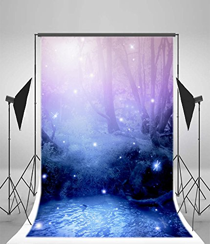 - Leyiyi Vinyl 3x5ft Photography Background Spa Children's Dreamlike Forest Photo Backdrop Baby Birthday Studio Props
