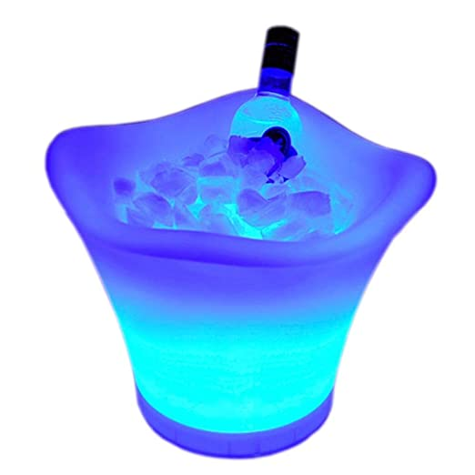Compra Cubeta de hielo Enfriador de cerveza Cucharón De Hielo LED ...