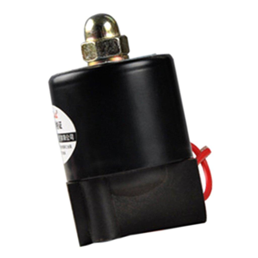 MagiDeal Electrovanne Automatique pour Contr/ôle Conduite de Eau//Air//Carburant 6mm DC24V