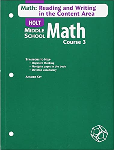 Math Course 3 Grade 8 Math Reading And Writing