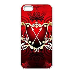 Festival Red Badge Custom Protective Hard Phone Cae For Iphone 5s