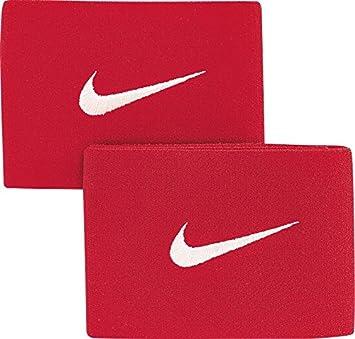 Nike Guard Stay II Cinta para fútbol, Unisex, Rojo/Blanco, Talla Única: Amazon.es: Deportes y aire libre
