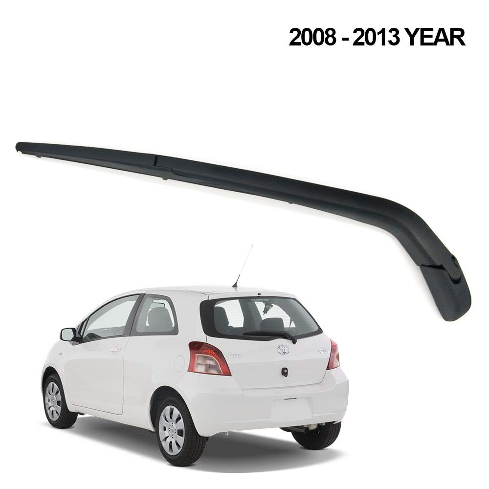 L/&U Posteriore Wiper Arm Lama Set for per Yaris 2008-2013 Torna tergicristallo Braccio