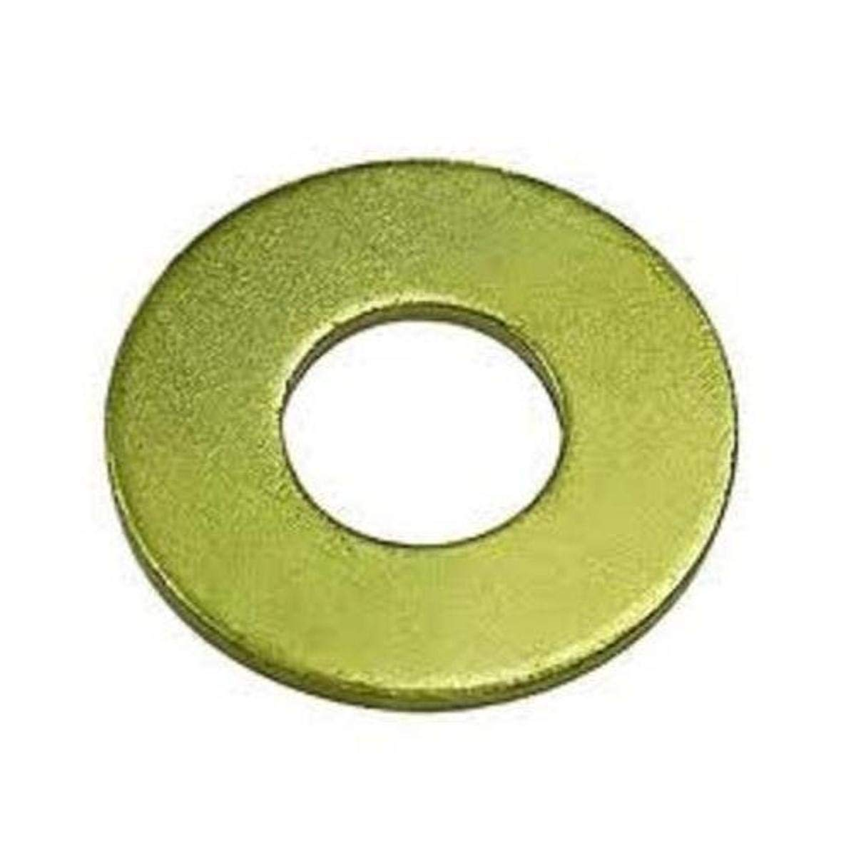 Small Parts FSC1SAEG8 Steel Flat Washer ASME B18.22.1 0.145 Thick 1 Screw Size Pack of 10 Grade 8 Pack of 10 2 OD 1 Screw Size 1-1//16 ID 2 OD 0.145 Thick 1-1//16 ID Zinc Yellow Chromate Plated Finish