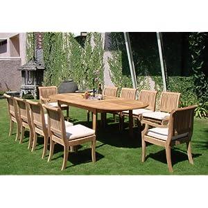 51k%2ByubdDBL._SS300_ Teak Dining Tables & Teak Dining Sets