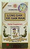 Solstice Long Dan Xie Gan Wan Herbal Supplement (200 Pills)