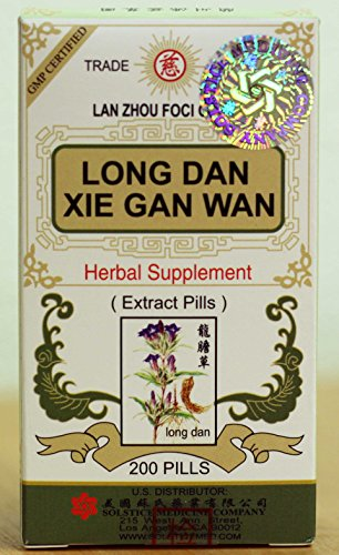 Solstice Long Dan Xie Gan Wan Herbal Supplement (200 Pills) -