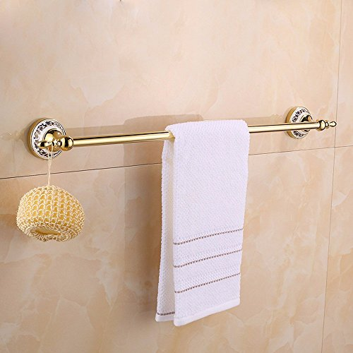 Outlet Khskx Solid Brass Bathroom Accessories Style Golden Ceramic