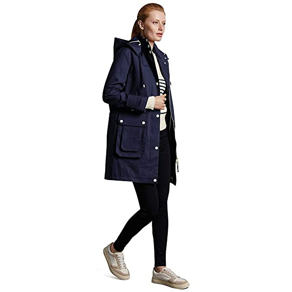 ca6c7c419ff Marks   Spencer Autograph T493739T Pure Cotton Anorak with Stormwear™ RRP  £119 - Navy