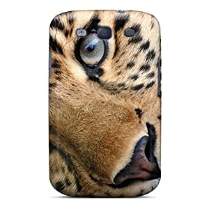 High Quality Cheetah Face Case For Galaxy S3 / Perfect Case