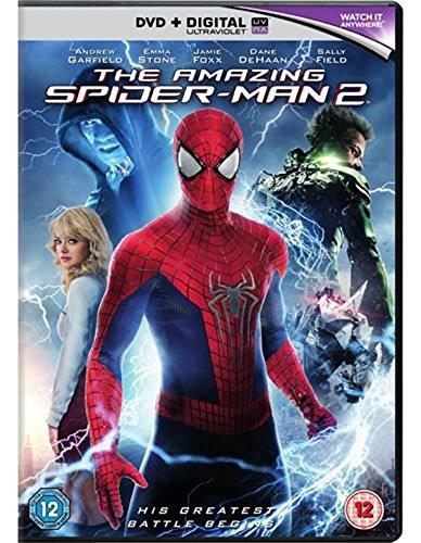 Amazon Com The Amazing Spider Man 2 Dvd 2014 Movies Tv