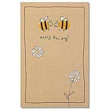Carlton Cards Bee-day Birthday Card