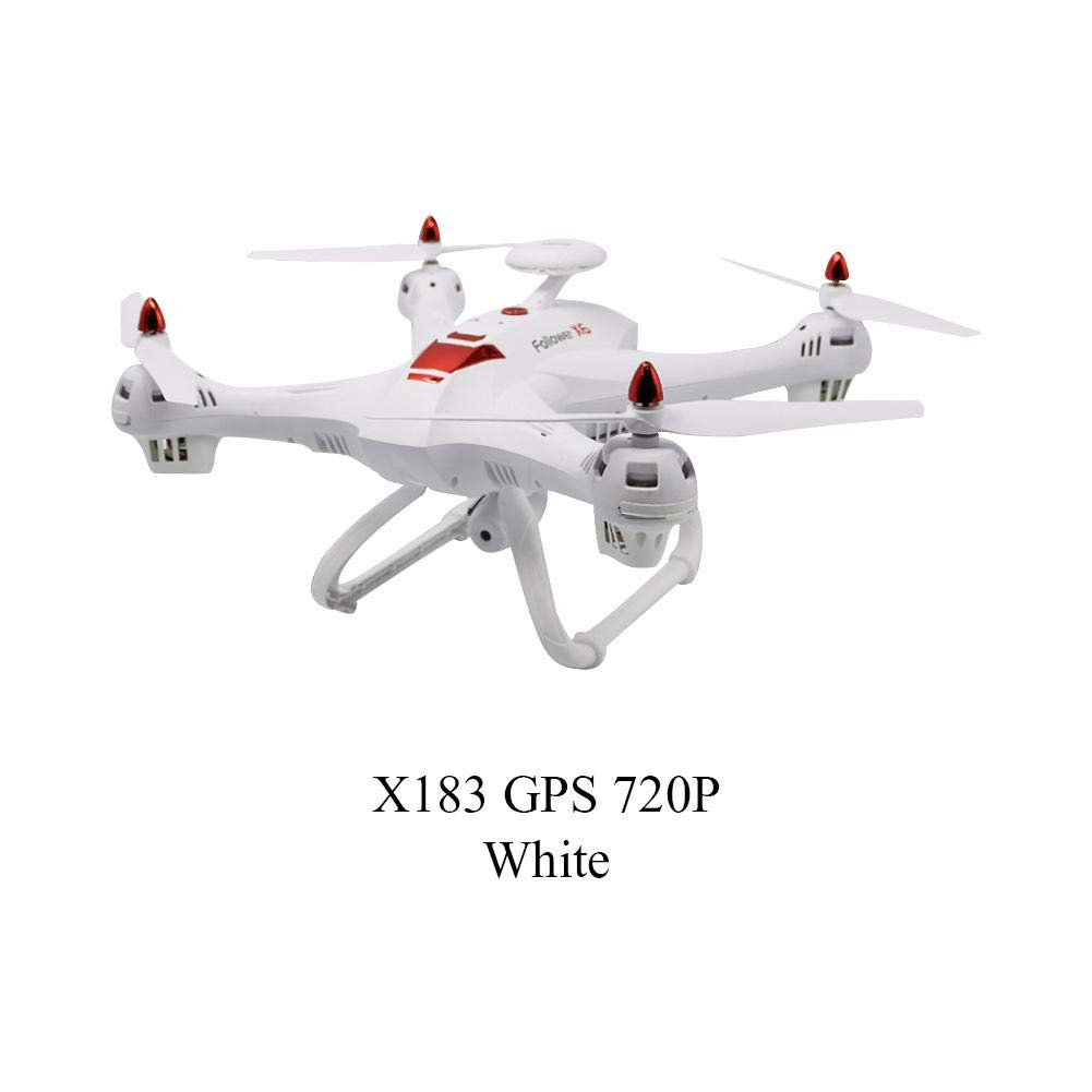 StageOnline RC Drone, X183s 5G PFV Wi-Fi de 4 Ejes Aviones no tripulados con 480P / 720P / 1080P Cámara GPS Control Remoto Quadcopter Profesional Modelo Drone