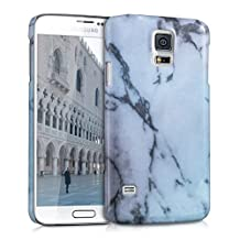 kwmobile Hard case Design marble for Samsung Galaxy S5 / S5 Neo / S5 LTE+ / S5 Duos in white black