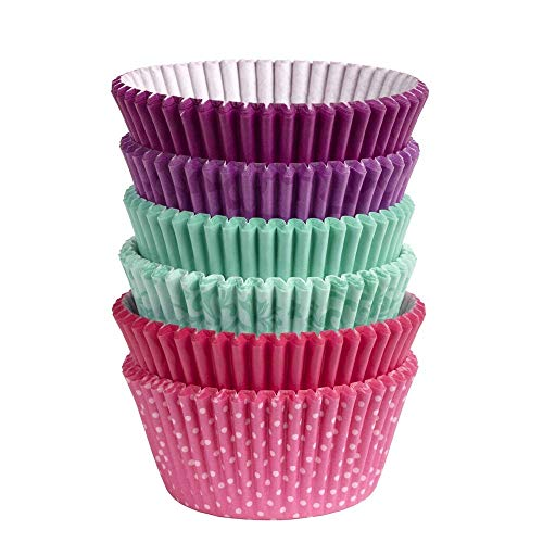 Wilton Baking Cups, Standard, 150-Count, Multi Color