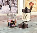 Apothecary Jars Bathroom Storage Organizer - Cute