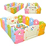 Playpen Activity Center for Babies and Kids - Multicolor...