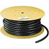 Panduit PW50F-T20 Split Harness Wrap, Black, 200-Feet by Panduit