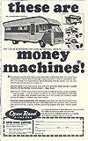 1966 Open Road Motorhome RV Pickup Camper Ad