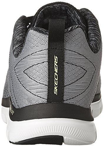 Skechers Sport Men's Flex Advantage 2.0 the Happs Oxford,Light Gray/Black,8 M US