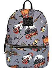 Loungefly x Harry Potter Tattoo All Over Print Mini Backpack