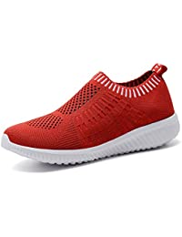 Women's Athletic Shoes Casual Mesh Walking Sneakers - Breathable Running Shoes