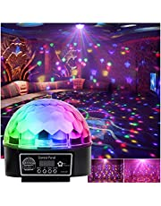 Disco LED lichteffect discobal Magic RGB projector voor party clubs