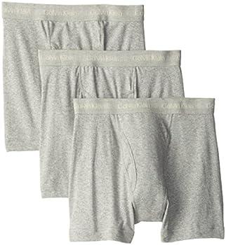 3 Pack Calvin Klein Men's Cotton Classics Boxer Briefs