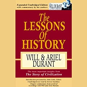 The Lessons of History Audiobook