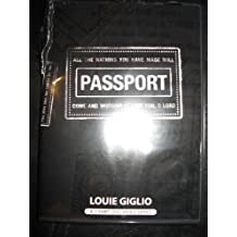 PASSPORT; LET'S GET THE PARTY STARTED AND NOW BOARDING ALL ROWS; 1 DVD; LOUIE GIGLIO