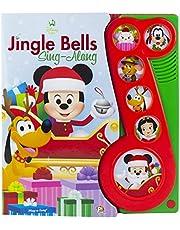 Disney Baby - Mickey Mouse Christmas Jingle Bells Sing-Along Song Book - PI Kids